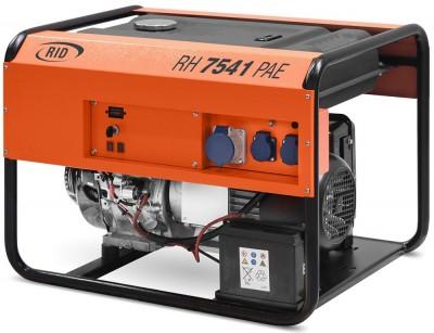 Бензиновый генератор RID RH 7540 PAE