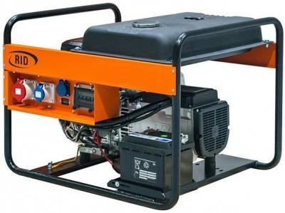 Бензиновый генератор RID RH 10001 E с АВР