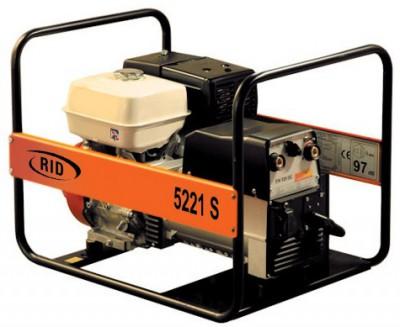 Бензиновый генератор RID RS 5221 SE