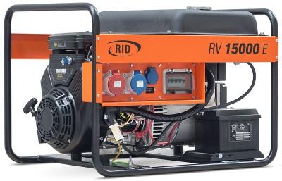Бензиновый генератор RID RV 15000 E