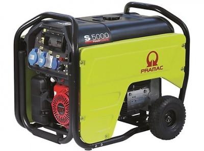 Бензиновый генератор Pramac S5000 3 фазы с АВР