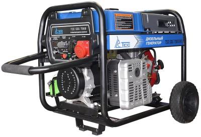 Дизельный генератор ТСС SDG 7000 EH3 с АВР