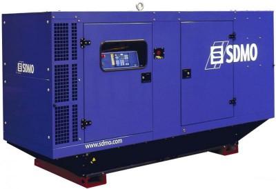 Дизельный генератор SDMO J130K в кожухе