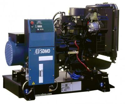 Дизельный генератор SDMO J33 с АВР