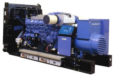 Дизельный генератор SDMO T1540 с АВР