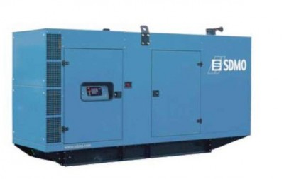 Дизельный генератор SDMO V350C2 в кожухе