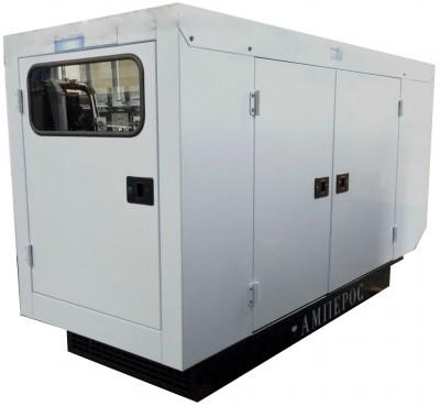 Дизельный генератор АМПЕРОС АД 30-Т400 PB (Проф) в кожухе