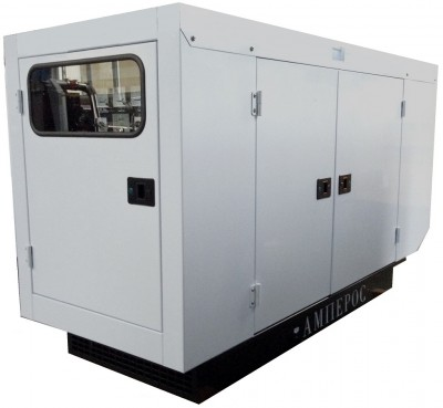 Дизельный генератор АМПЕРОС АД 12-Т400 в кожухе с АВР