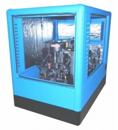 Дизельный генератор Вепрь АДС 14-Т400 ТП в кожухе