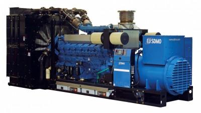 Дизельный генератор SDMO T2200C с АВР