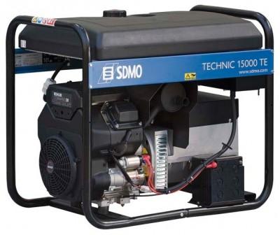 Бензиновый генератор SDMO TECHNIC 15000 TE с АВР