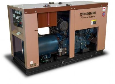 Дизельный генератор TOYO TG-30SPC
