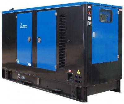 Дизельный генератор ТСС АД-200С-Т400-1РМ11 в кожухе с АВР