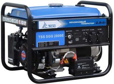 Бензиновый генератор ТСС SGG 2800E с АВР