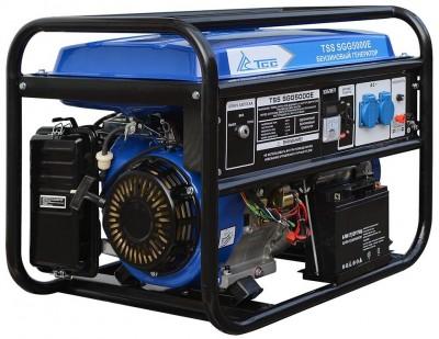 Бензиновый генератор ТСС SGG 5000 E (новая модель)