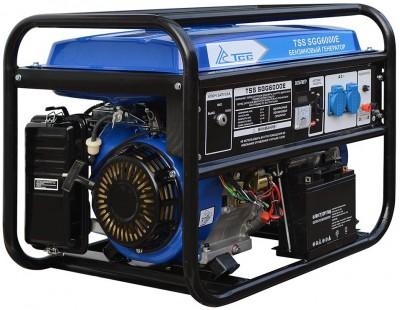 Бензиновый генератор ТСС SGG 6000 E (новая модель) с АВР