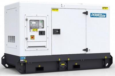 Дизельный генератор Power Link WPS45S в кожухе с АВР